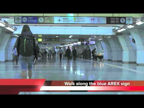 (all stop train) Gimpo international airport station Guide