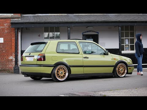VW Golf 3 VR6 2.8 DOHC | Bagged Project Build By Connor
