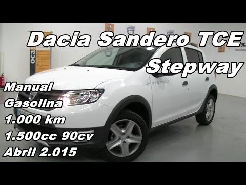 Dacia Sandero Stepway TCE vehiculo de ocasion coche usado en Madrid 8932 JFF
