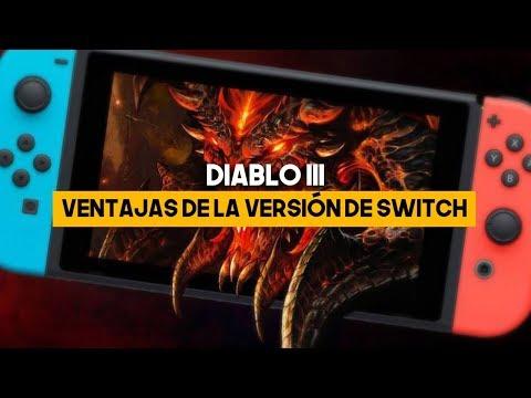 Diablo 3 en SWITCH: VENTAJAS de la VERSIÓN para NINTENDO