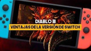Diablo 3 en SWITCH: VVENTAJAS de la VERSIÓN para NINTENDO