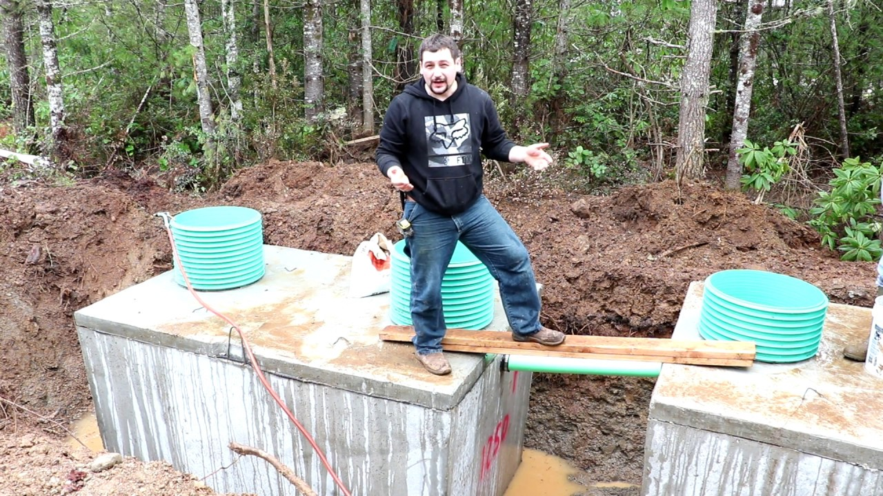 Install Your Own Septic System 2 Youtube
