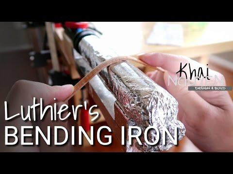 ❌ DIY LUTHIER'S BENDING IRON | POOR MANS' BENDING IRON