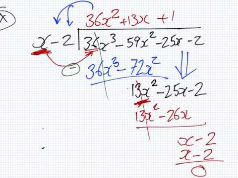 Mathematics for Science | Lesson | Algebra | Long Division
