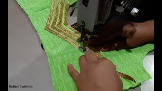 Video Latest and beautiful designer blouse cutting and