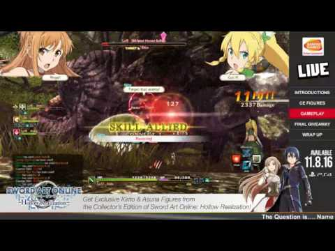 Sword Art Online: Hollow Realization! Featured by Bandai Namco LIVE!