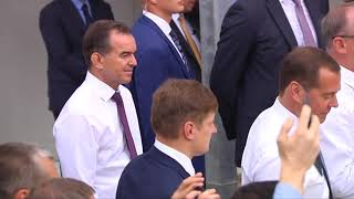 Подробности визита Владимира Путина в Анапу