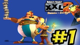 Let's Play (Max & Frodo) Asterix & Obelix XXL2: Mission Las-Vegum - #1 - Лютеция