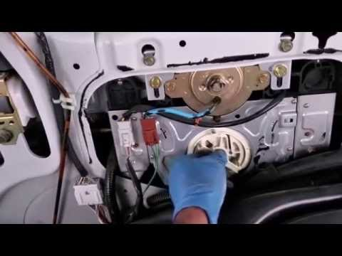 How To Remove Sliding Door Motor In 1999 2004 Honda Odyssey Youtube