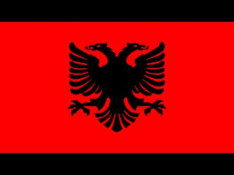 Bandera Civil del Reino de Albania (1934-39) - Civil flag of the Kingdom of Albania (1934-39)