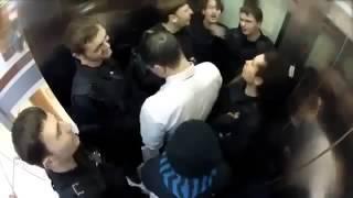 Лучшие приколы  В этом лифте не соскучишься! смешное видео 1