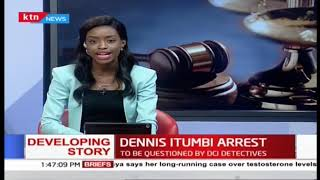 Developing: Dennis Itumbi arrested and is to be questioned by DCI detectives over fake letter probe