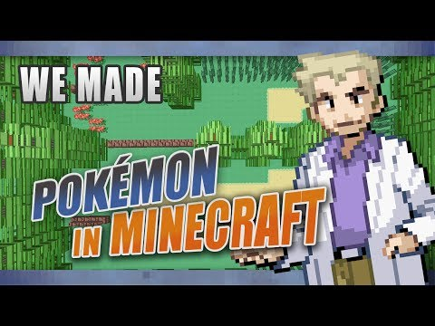 Pokémon in Minecraft - FireRed Kanto Map