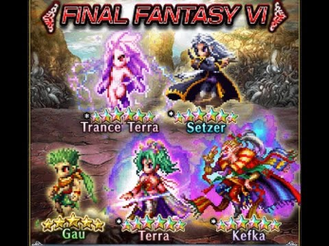 Ffbe Ff6 Event And Banner Review Trance Terra Kefkaterra