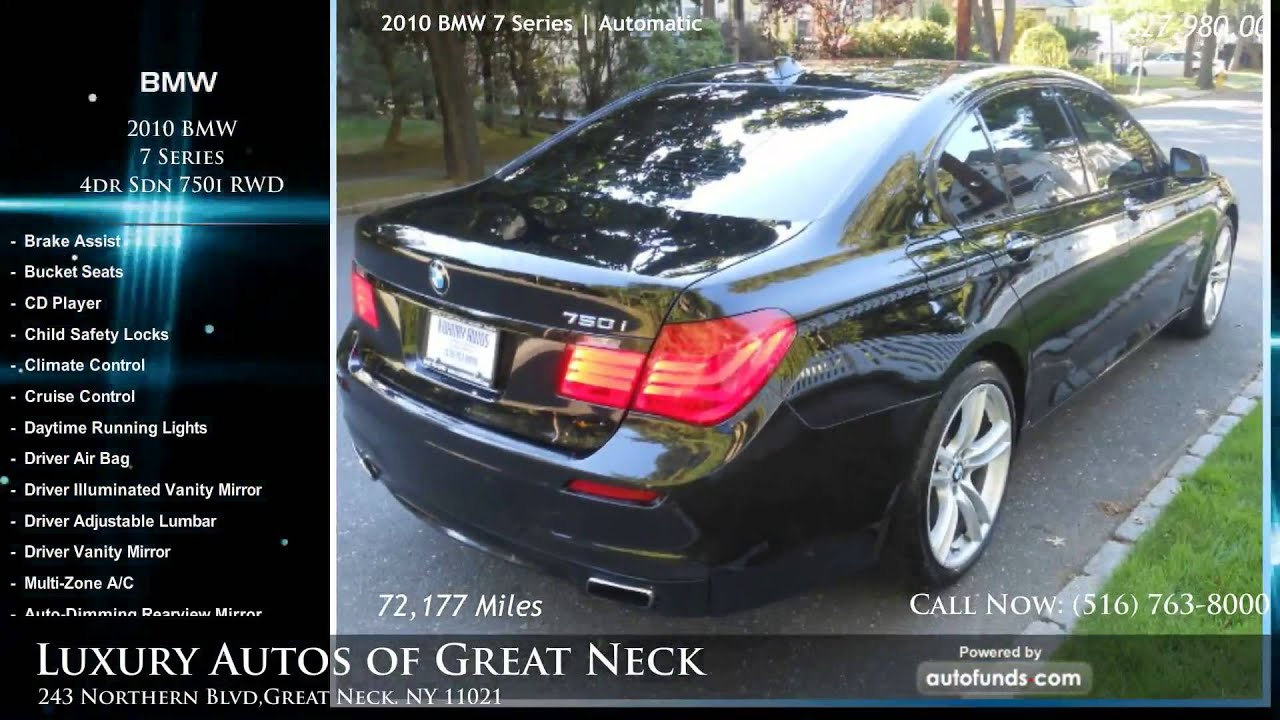 used 2010 bmw 7 series luxury autos of great neck great neck ny sold youtube. Black Bedroom Furniture Sets. Home Design Ideas