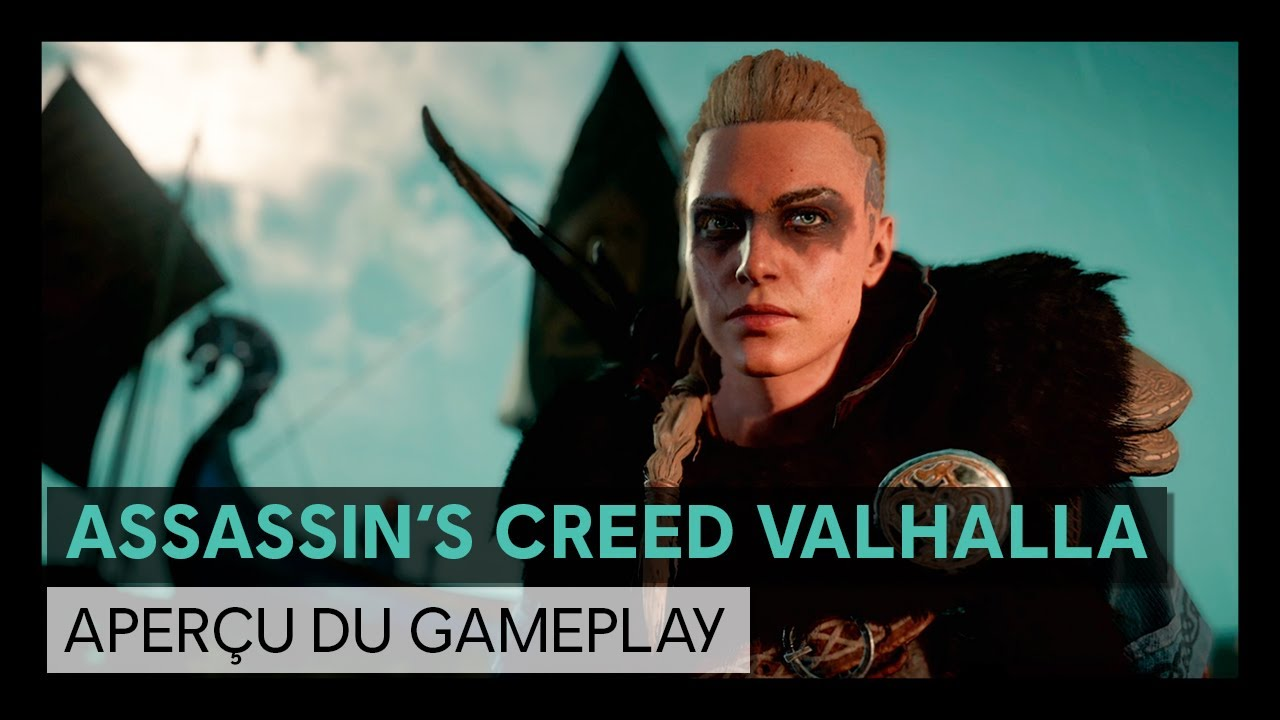 Assassin's Creed Valhalla : Trailer - Aperçu du gameplay [OFFICIEL] VOSTFR