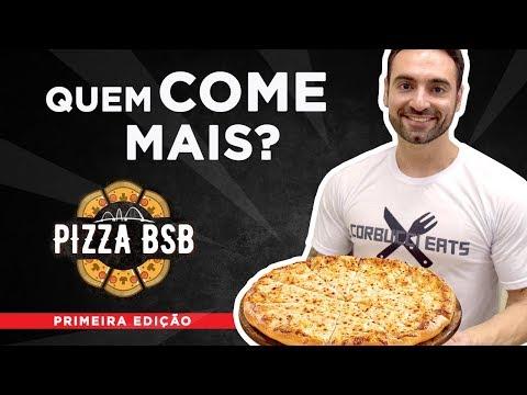 Desafio #31 - Campeonato Quem come mais pizza? (Pizza BSB, Outback)