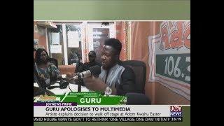 Guru Apologises To Multimedia - Joy Entertainment Prime (19-6-18)