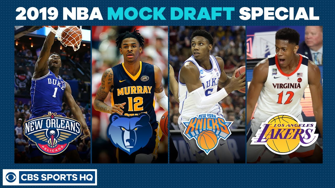 RJ Barrett to the KNICKS? | 2019 NBA Mock Draft Special | CBS Sports HQ