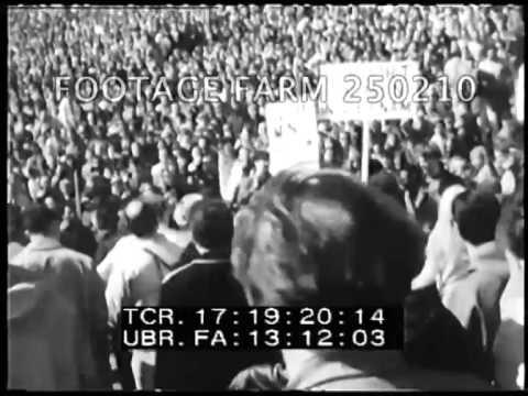 Peace March - Thousands Oppose Vietnam War 250210-18   Footage Farm