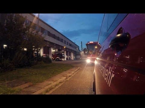 BASF Bei Nacht: Unterwegs Mit Der Werkfeuerwehr