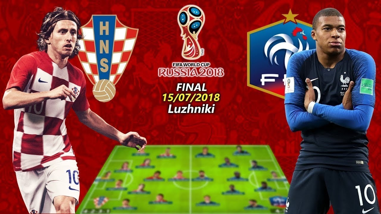 d42345f16 Fifa World Cup 2018 Final - France v Croatia - YouTube