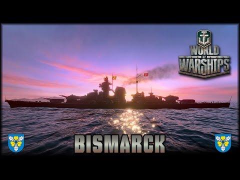 World of Warships - die Bismarck [ deutsch | Gameplay ]