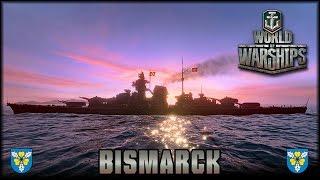 World of Warships - die Bismarck [ deutsch   Gameplay ] thumbnail