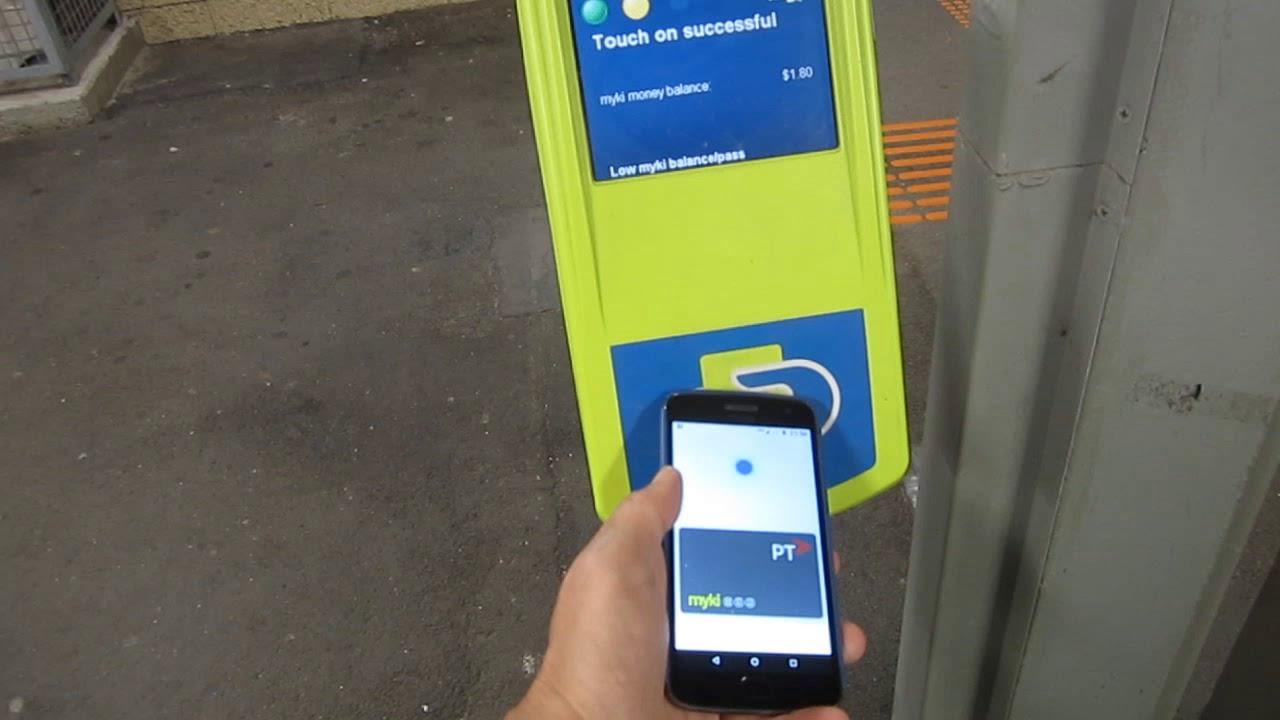 The Myki mobile trial is progressing – Daniel Bowen