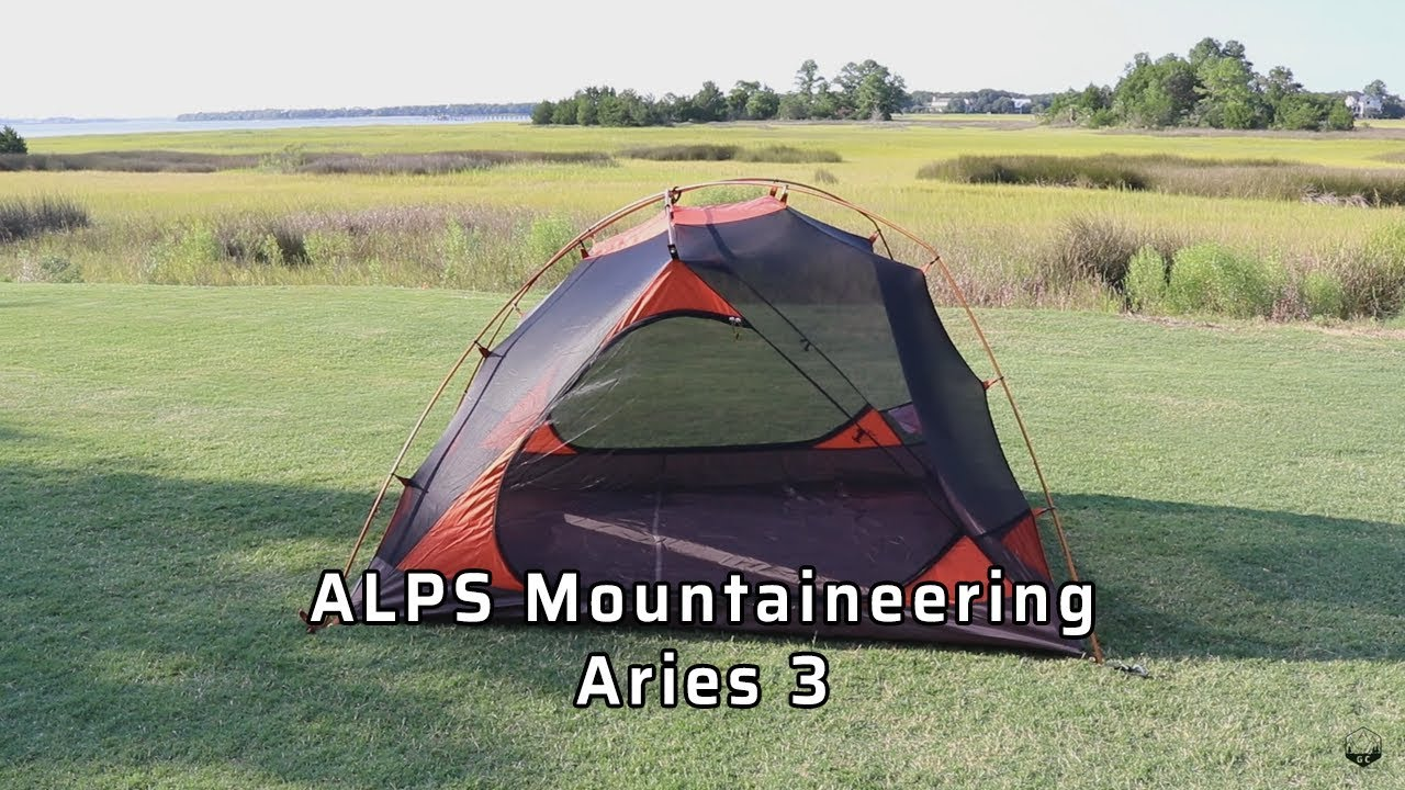 ALPS Mountaineering Aries 3 Tent Review & ALPS Mountaineering Aries 3 Tent Review - YouTube