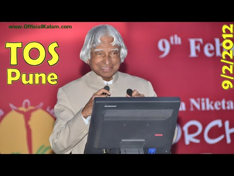 Dr. A.P.J. Abdul Kalam at The Orchid School, Pune - Science Expo on 9 Feb 2012