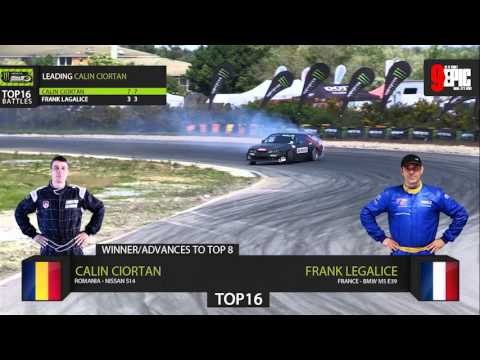 Monster Energy King of Europe Drift ProSeries Round 2- France TV Show