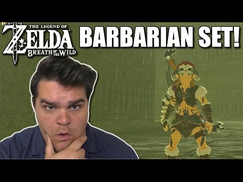 HOW TO GET THE BARBARIAN ARMOR! 50% DAMAGE INCREASE! | Legend Of Zelda: Breath Of The Wild