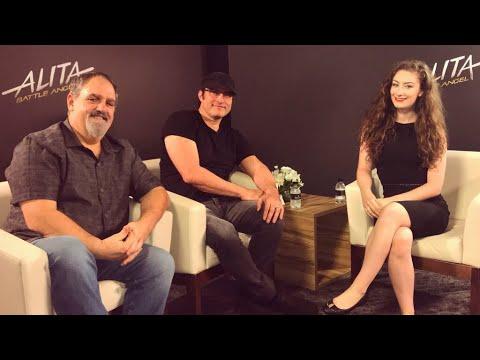 Alita: Battle Angel - Interview with Robert Rodriguez & Jon Landau