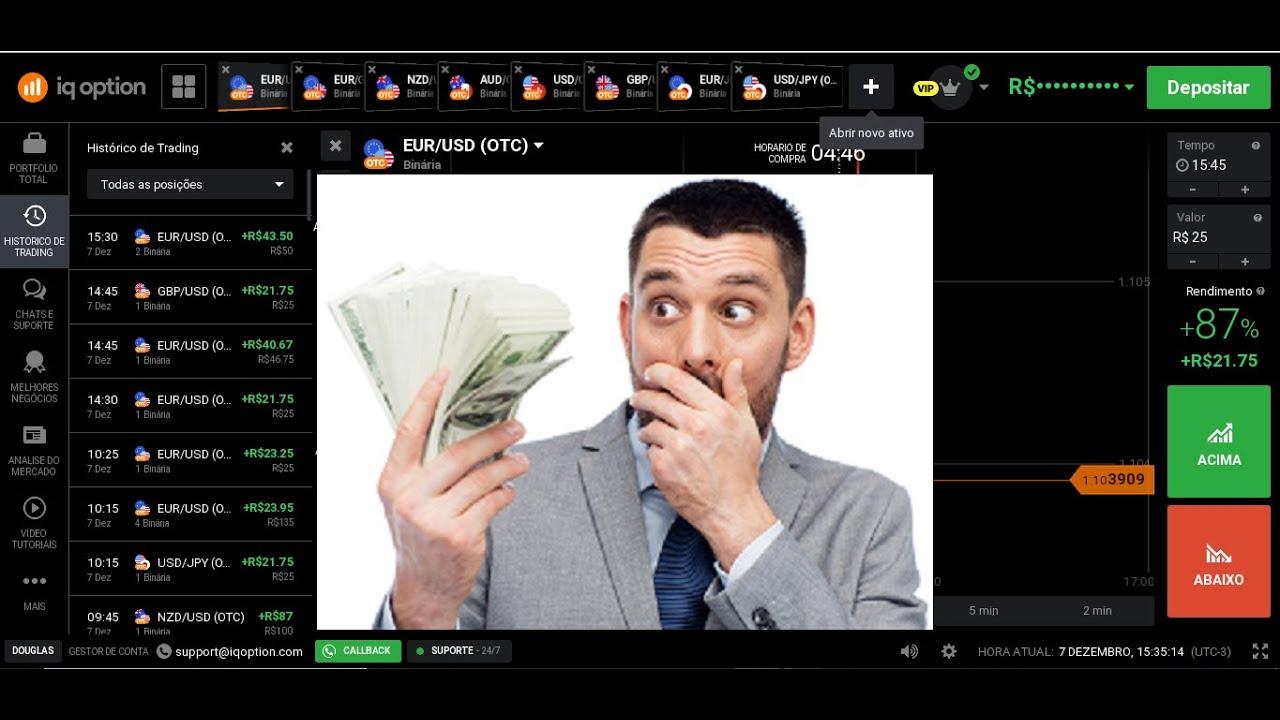 Como ganhar dinheiro facil em OTC iqoption 2020