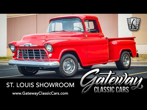 1956 Chevrolet 3100 Task Force Pickup Truck For Sale Gateway Classic Cars St. Louis  #8317