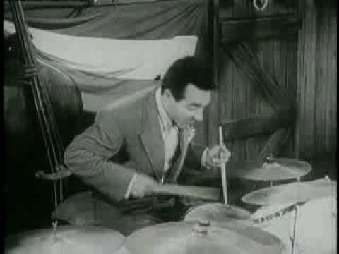 """Big Sid Catlett & Gene Krupa in """"Boy, What a Girl"""""""