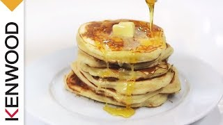 Thick Pancakes With Maple Syrup  | Kenwood Titanium | Recipe Thumbnail