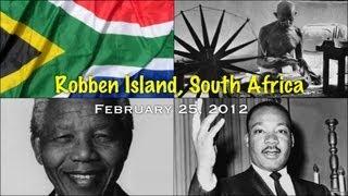 Robben Island, South Africa-February 25, 2012