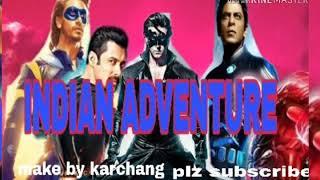 INDIAN ADVENTURE MOVIE,Fan making trailer,Bolleywood film,Adventure ...