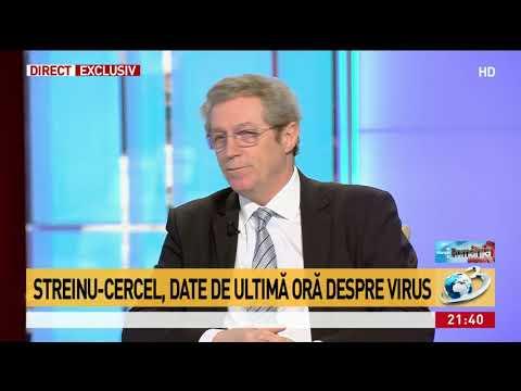 Streinu-Cercel, despre românul vindecat de coronavirus: Nu a fost niciun dubiu. Testul a devenit ne
