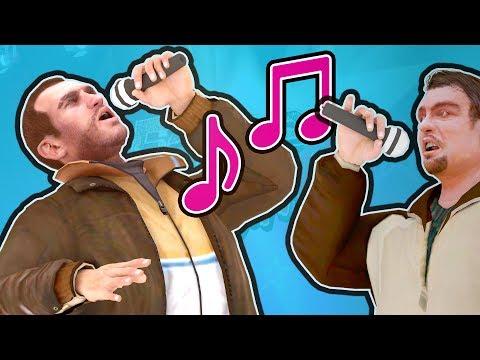 GTA 5 - NIKO & ROMAN SINGING - Fame or Shame