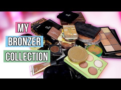 MY BRONZER COLLECTION 2018   Cruelty Free