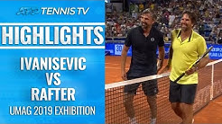 Goran Ivanisevic vs Pat Rafter: Umag 2019 Exhibition Highlights