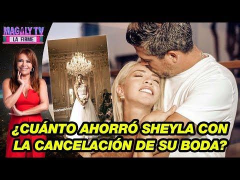 ¿Cuánto ahorró Sheyla Rojas con la cancelación de su 'boda de ensueño'?