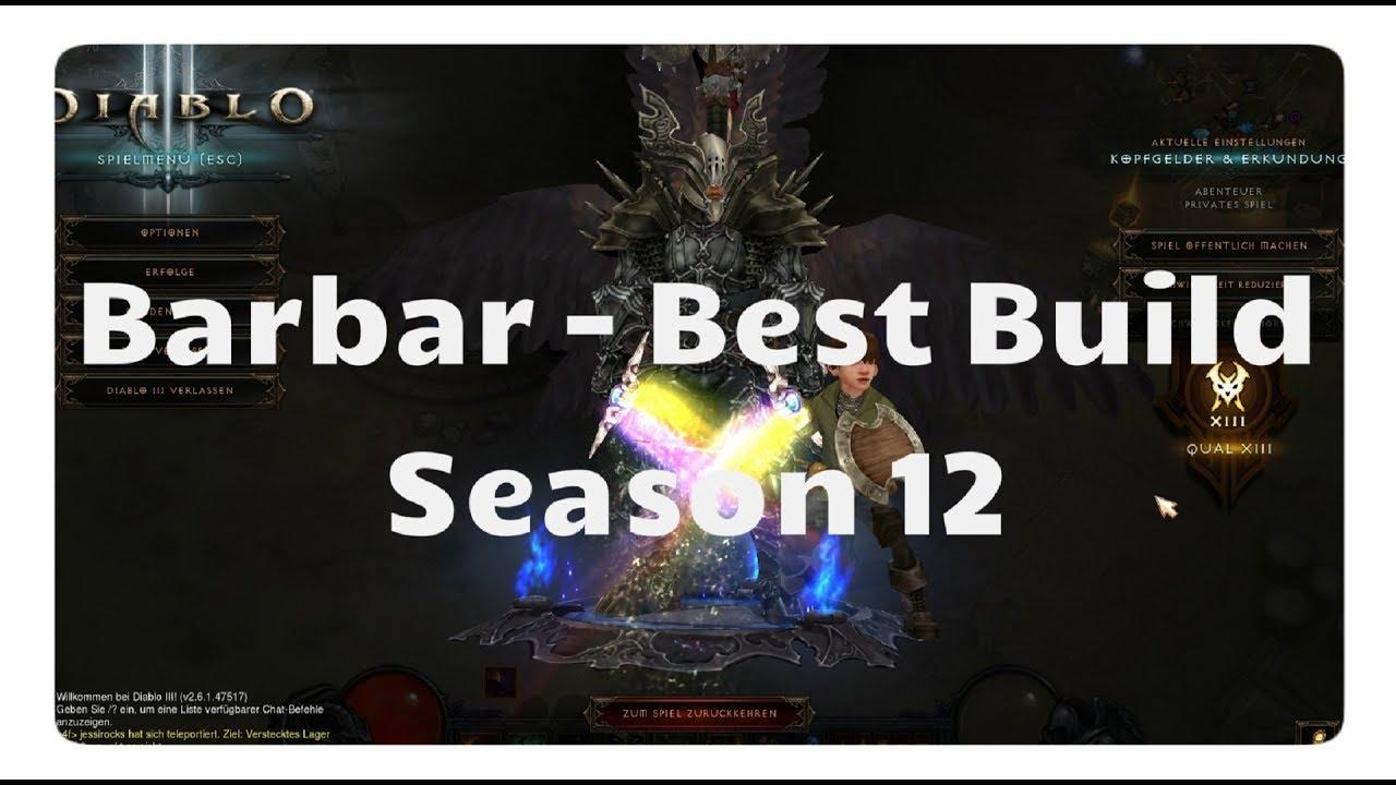 Diablo 3 season 16 barbar