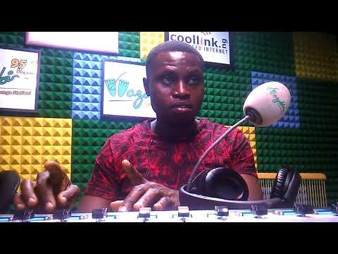 Studio Work. Wazobiafm Lagos