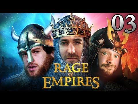 Rage Of Empires mit Donnie, Florentin & Marco #03 | Age Of Empires 2 HD bei Rocket Beans TV deutsch