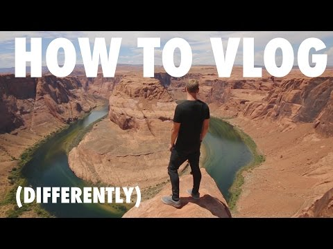 HOW TO VLOG (DIFFERENTLY) CAMERA + EDITING SOFTWARE