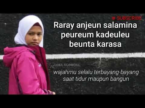 Kata Kata Cinta Versi Bahasa Sunda Dan Artinya Youtube